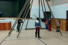 Teepee Teachings at KOHL School